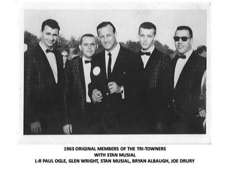 Tri-Towners Quartet with Stan Musial